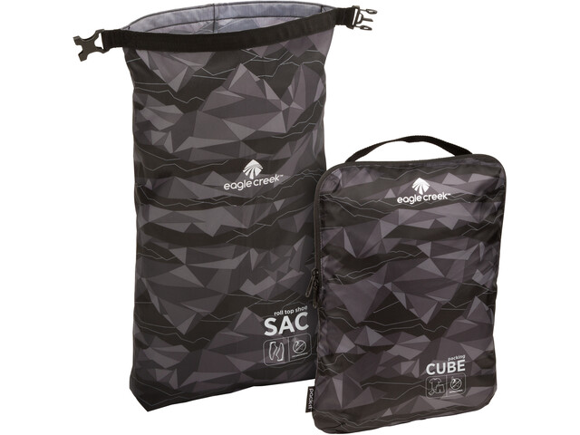 Eagle Creek Pack-It Active Essential Set geo scape black